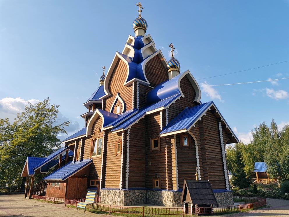 Поселок Кольцово: храм Касперовской иконы Пресвятой Богородицы