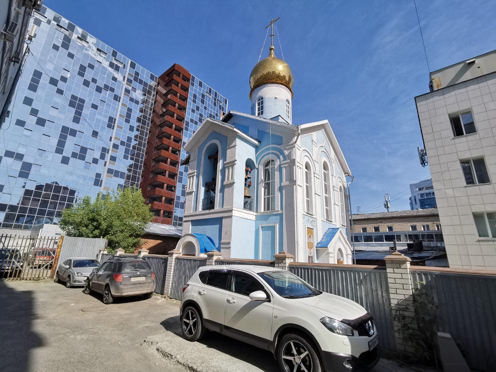 Студенческий храм иконы Божией Матери Казанская в Екатеринбурге
