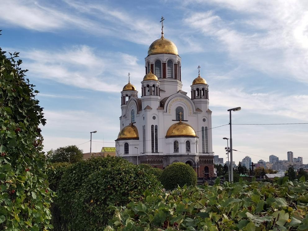Храм на Крови в Екатеринбурге