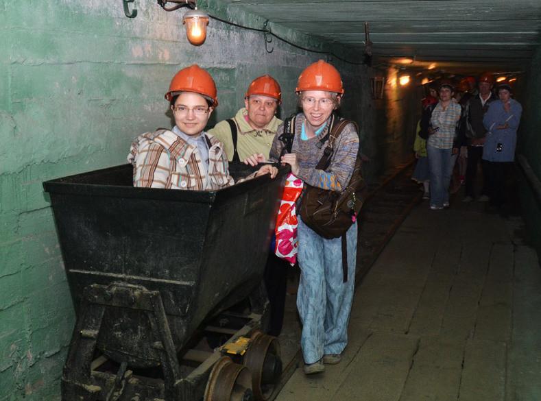 В музее Русское золото