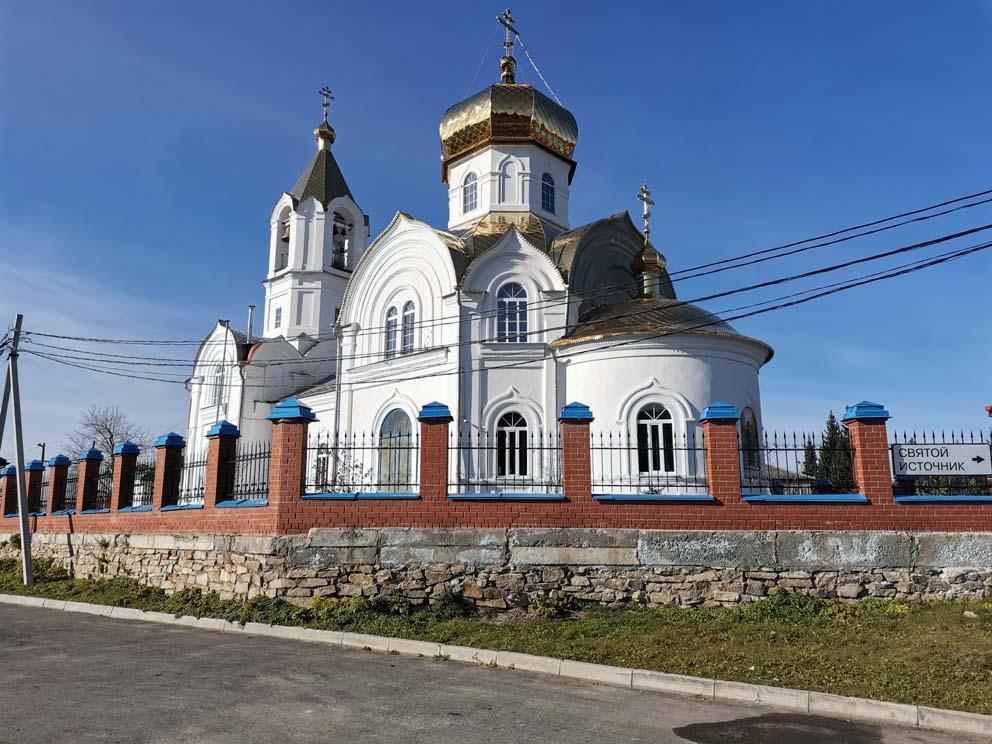 Старопышминск: храм Сретения Господня