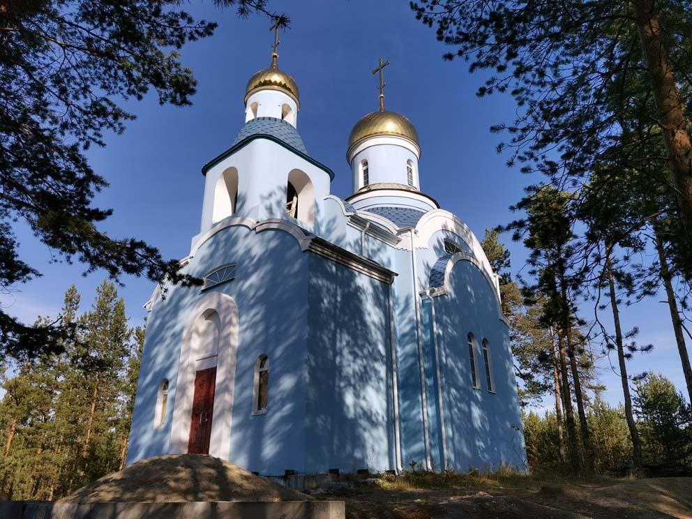 """Старопышминск: храм иконы Божией Матери """"Умягчение злых сердец"""