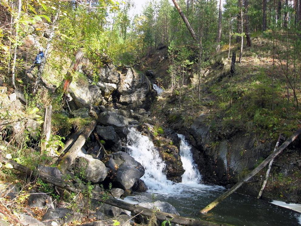 Асбестовский водопад