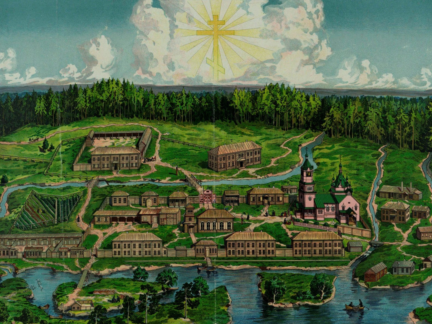 Кыртомский Крестовоздвиженский мужской монастырь